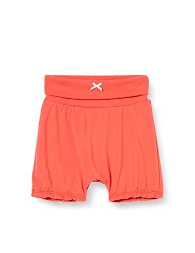 Sanetta Baby-Mädchen Fiftyseven Kurze Hose Shorts, Rot (Chilly 37007), 86 (Herstellergröße:086)