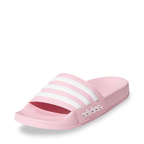 adidas Mädchen Adilette Shower K Badeschuhe, True Pink / Cloud White / True Pink, 38 EU