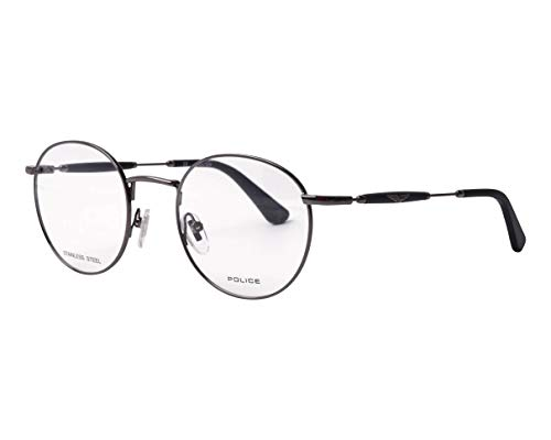 Police VPL-A-52 0568 - Gafas de sol (metal), color negro mate