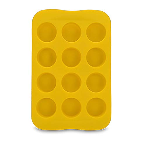 Best Bargain residentD Silicone Freeze Mold Bar Pudding Jelly Chocolate Maker Mold 12 Ice Cube for C...