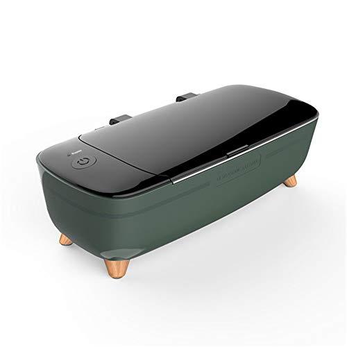 CSDY-Ultraschall Cleane Schmuck Schmuck Waschmaschine Kleine Gläser Maschine Kontaktlinsen-Reiniger Voll Tiefe Automatische Reinigung,Grün