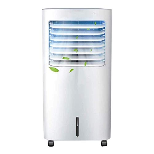 Verdunstungsluftkühler, mit Fernbedienung, 10-Liter-Wassertank, 7-Stunden-Timer, 3-Block-Windgeschwindigkeitseinstellung, verwendet für den Innenheim-Schlafsaal, B.