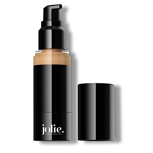 Jolie Luminous Foundation SPF 15 - Silky Hydrating Liquid Makeup (Tender Beige)
