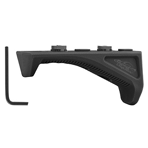 Élément mieux combiner 2 Black Angled Fore Grip Airsoft Rifle Grip polymère