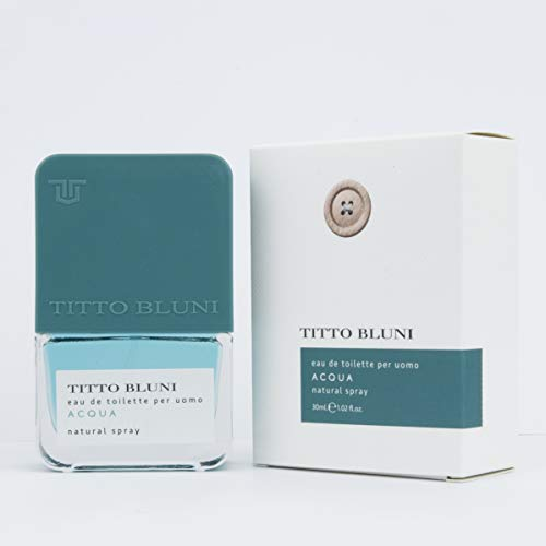 Titto Bluni Acqua Uomo Eau de Toilette Natural Spray 30ml
