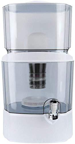 Ejoyous Wasserfilter 24L Filterkanne, Filter mit 5-Stufen Filtration zur Reduzierung von Kalk,Chlor und geschmacksstörenden Stoffen im Leistungswasser,BPA-frei