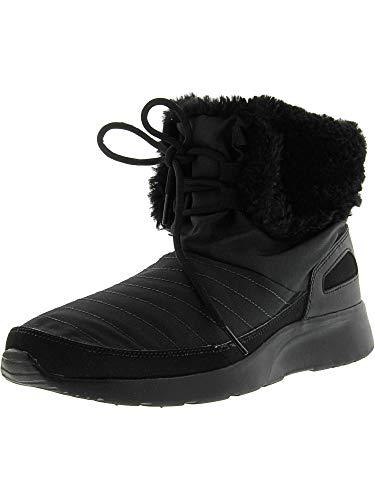 Nike Damen WMNS Kaishi WNTR HIgh Schutzstiefel, Black (Schwarz/Metallic Silver), 36.5 EU