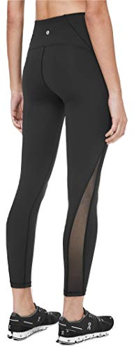 Lululemon Train Times Pant 7/8 Yoga Pants (Black,...