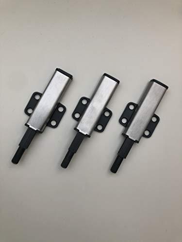 Juego de 3 abridores de puerta a presión para armarios Ikea