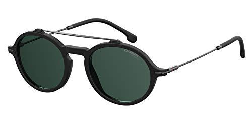 Carrera Sport 195/S Gafas, Matt Black/GN Verde, 50 Adultos Unisex