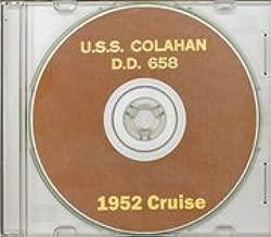 USS Colahan DD 658 1951 - 1952 Cruise Book