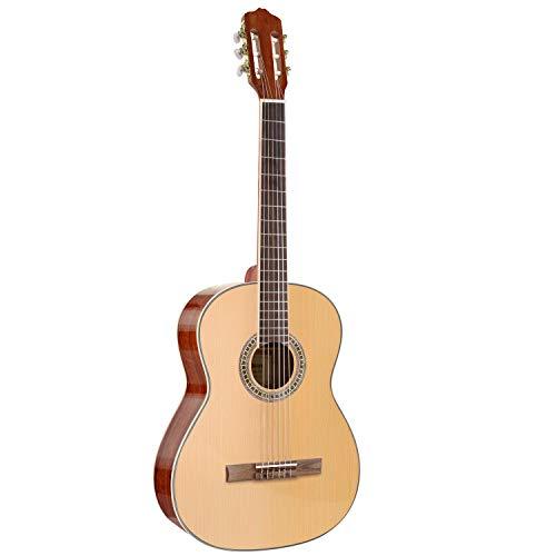 MARTISAN Guitarra Clásica 4/4 de madera, Guitarra Española con 6 Cuerdas de Nylon para Niños, Principiantes, Adultos
