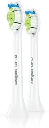 Têtes de rechange Philips DiamondClean Optimal Clean - blanches, lot de 2