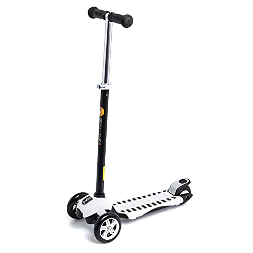 Product Image of the YBIKE GLX Pro Scooter, White and Black Kick Scooter, 12cm, one Size (YGLXP3)