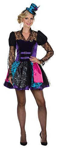Rubies 13309-38 - Disfraz de Steampunk para Mujer, Talla 38, diseo de Director del Circo, Multicolor
