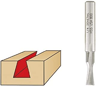Leigh Jig 140 Straight Bit For Leigh Woodtek 921327 Joinery Router Bits 1//4 Shank 5-pack