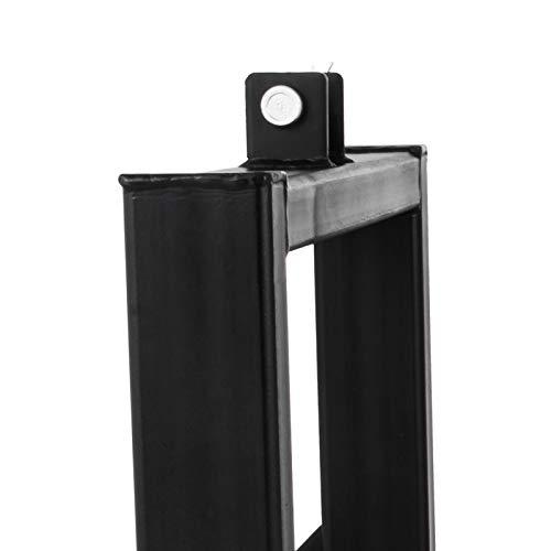 Mophorn 1T Palettengabel Gabelträger Gabelzinken Dreipunkt Industrie Kat1/2 (Gabelplatte)