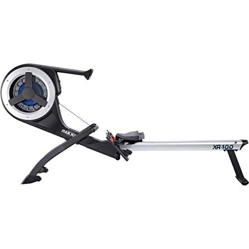 MAXXUS Rudergerät 10.1 Pro - Rower in Studio Qualität für das Ruder-Training Zuhause - mit Wettkampfsimulation - klappbar, leise und gelenkschonend