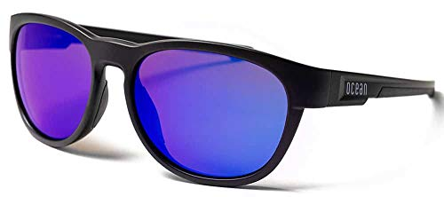 Ocean Goldcoast Matte Black Revo Blue - Negro