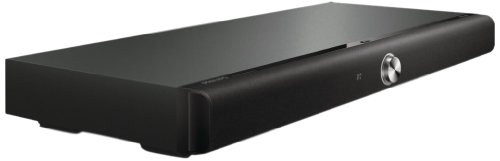 Philips HTL4111B Soundbar mit Bluetooth, NFC, Audio-Eingang, kompatibel TV/Blu-Ray/DVD-Player, Surround Sound, schwarz