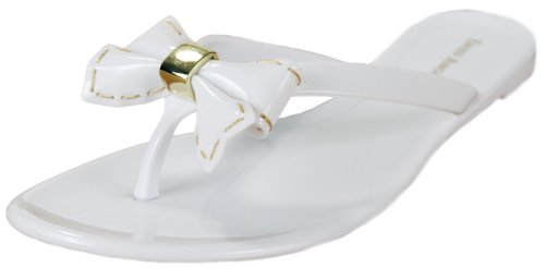 ENZO ANGIOLINI PixieGirl Women's Sandals (8, White Sky)