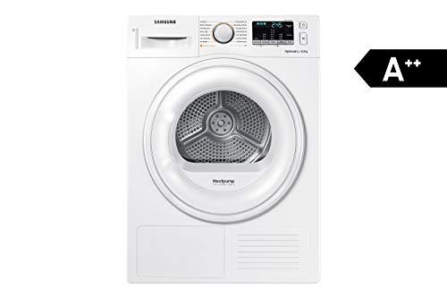 Samsung DV5000 DV80M50101W/EG Wärmepumpentrockner/A++/OptimalDry - Sensorgesteuertes Trocknen/Kondenswasserstandsanzeige - SchnellCheck/Komfort 2-in-1-Filter
