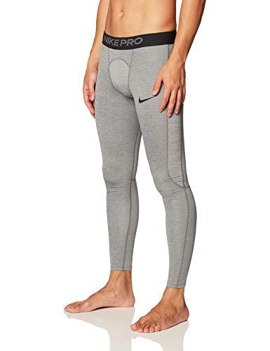 Nike PRO Tight, Pantaloni Uomo, Grigio (Smoke Grey/Lt Smoke Grey/Black), (Taglia Produttore: Small)