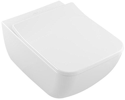 Villeroy & Boch Tiefspülklosett spülrandlos Venticello 4611 560x375mm Weiß Alpin C+, 4611R0R1, ohne Deckel