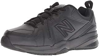 New Balance Men's 608 V5 Casual Comfort Cross Trainer, Black/Black, 12 XW US