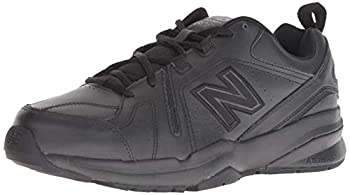 New Balance mens 608 V5 Casual Comfort Cross Trainer Black/Black 9.5 US