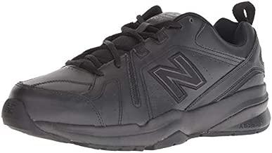 New Balance mens 608 V5 Casual Comfort Cross Trainer, Black/Black, 11.5 X-Wide US