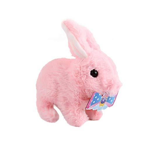 duhe189014 Plüsch Hase Plüsch Kaninchen Gehen Bellen Elektronische Interaktive Plüsch Haustier Kaninchen Spielzeug Für Kinder Kleinkinder Kinder Jungen Mädchen Haustier pleasant