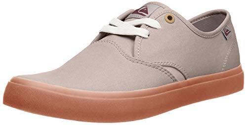 Quiksilver Men's Shorebreak Shoe Skate, Grey/Grey/red, 7 M US
