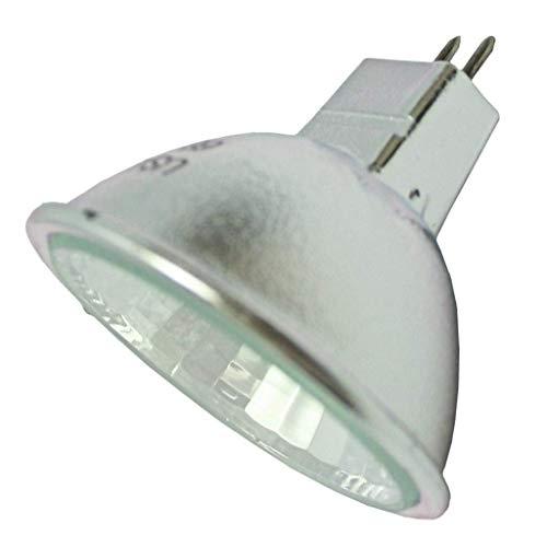 GE 41487 - 35 Watt Halogen Light Bulb - MR16 - ConstantColor Precise - Flood - Glass Face - 4,000 Life Hours - 24 Volt