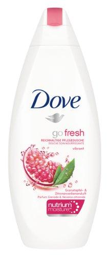 Dove Dusche go fresh Vibrant mit Granatapfel- und Zitronenverbenenduft, 250 ml