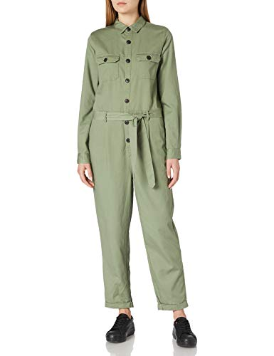 Springfield Mono Largo Verde Tencel Pantalones, M