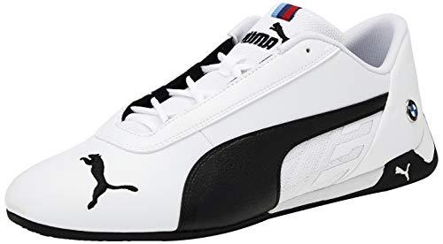 Puma Unisex-Erwachsene BMW MMS R-cat Sneaker, Weiß White Black 02, 44.5 EU
