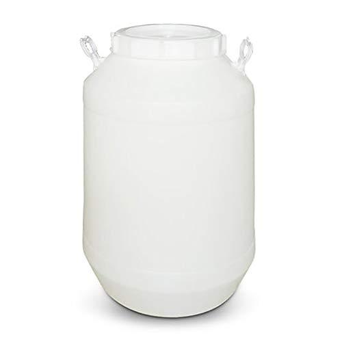 Bidones agua Espesada bañera de agua tapa tambor de calidad alimentaria cubo de plástico gran tanque de almacenamiento de tanque de almacenamiento de tanque de almacenamiento de cubo (25L, 30L, 50L, 6