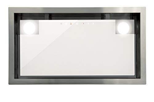 Lüfterbaustein Cata Edelstahl Weißgas für 60cm Schrank/1050m³/h Sehr Saugstarker und Leiser Brushless-Motor/Dunstabzugshaube mit TouchControl Steuerung/Inklusive Turbostufe/Ablufthaube/Umlufthaube
