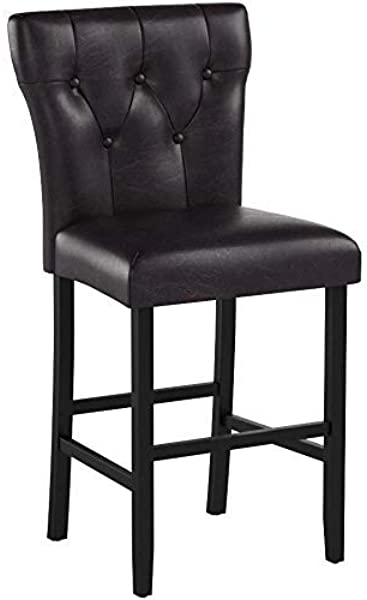Christopher Knight Home 296644 Cody Brown Leather Counter Stool