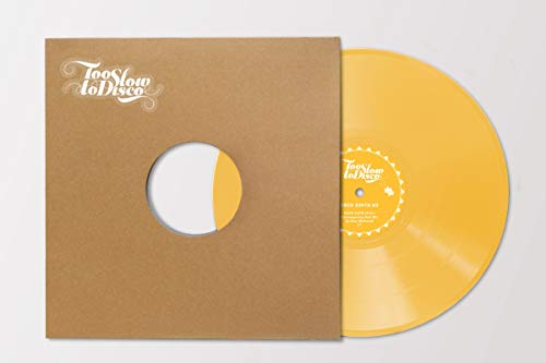 Dave Mathmos-Too Slow to Disco Edit 03 (Vinyle Jaune)