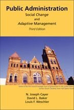 Public Administration : Social Change and Adaptive Management