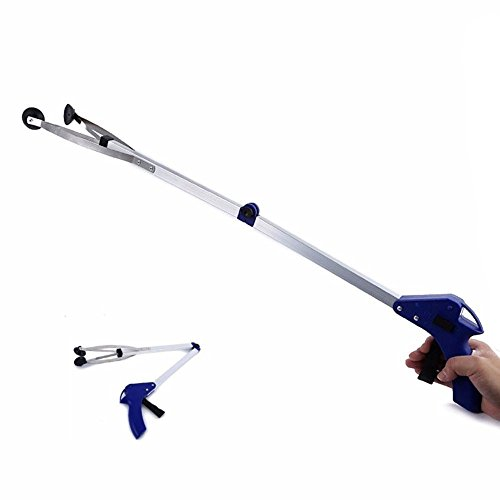 """Reacher Grabber, Foldable Long Arm Reaching Claw by Northbear, 32"""" Extended Hand Grabber Trash Pickup Tool"""
