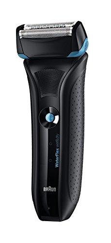 Braun Waterflex Wf2S - Afeitadora Protección IPX7 Totalmente Lavable