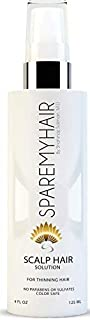 New Spare My Hair Concentrated Scalp Solution & Hair Loss Treatment - Supports Faster, Thicker Hair Growth - Contains Yucca Extract, Horsetail, Saw Palmetto, Jojoba, Multi-Vitamins & Keratin Protein>