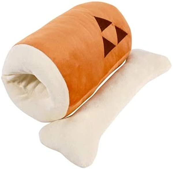 Gardening Spring Plush Toy Monster Hunter Pillow Barbeque Plush Toy Bone Hand Warm Pillow Handle Napping Pillow Pillow 45x20CM 17 7x7 9