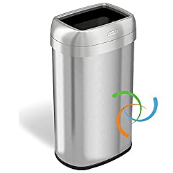 Best Oval 16-Gallon Trash Can