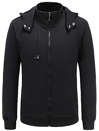 HOLRAN men's hoodie new Tokyo Ghouls Ken Kaneki Cosplay Black Hoodie...