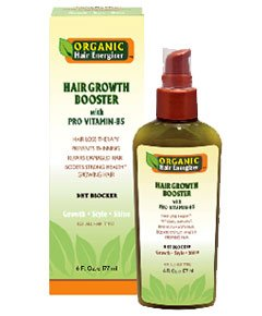 Organic Hair Energizer Hair Growth Booster with Pro Vitamine B5 177 ml