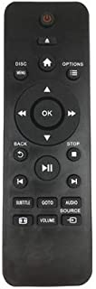 AllureEyes Universal Replacement Remote Control Fit for Philips DVD Player DVP2880 DVP2880/F7 DVP3680/51 DVP3000